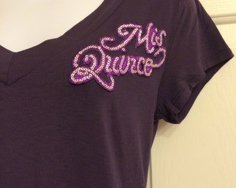 Mis Quince Tshirt--Cute and Customizable