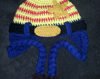Woody from Toy Story Crochet Hat