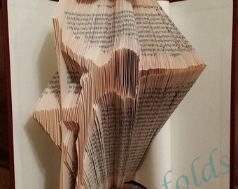 Pole dancer 1 bookfolding pattern