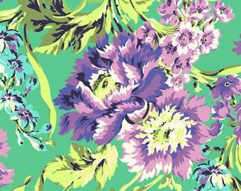 Amy Butler - Free Spirit - Love - Bliss Bouquet - Emerald - AB50.EMERA - BY 1 YARD