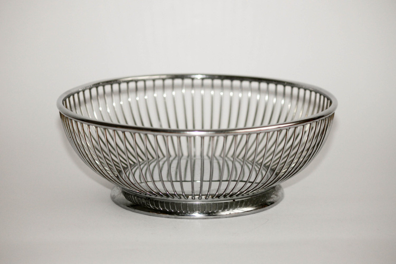 Vinatage alfra alessi fruit basket bowl 18 10 by doublerandc - Alessi fruit bowl ...