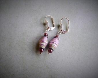 Paperbead Earrings