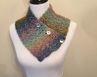Button Up Neck Warmer