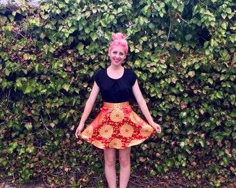 Mulan Inspired Disneybound Circle Skirt