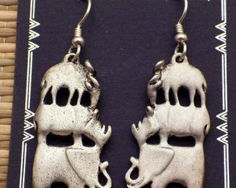 African Totem Earrings