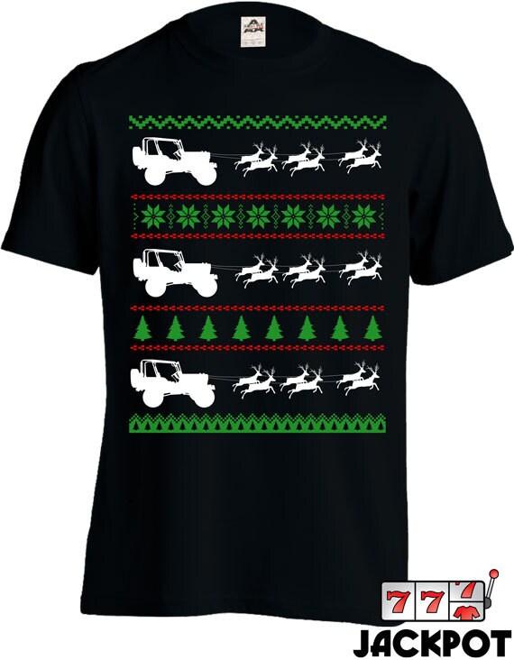 Ugly christmas sweater tee shirt