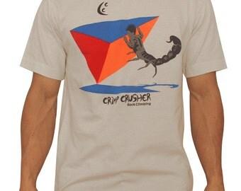 Crimp Crusher Rock Climbing Shirts - The Scorpion Beta