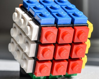 how to make a lego infinity cube