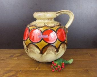 Große Vase von Scheurich/484-21/Large West Germany vase by Scheurich