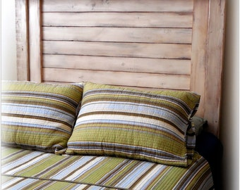 TWIN shutter-style HB ONLY / farmhouse headboard / vintage twin