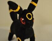Umbreon Mini Pokemon Plush (MADE TO ORDER)