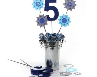 Transformer Party Decoration - Table Centerpiece