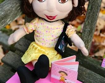 "Handmade Talking Grandma Doll, ""MaMu"" 20 inch"