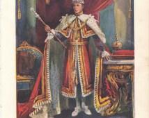 Edward VIII Coronation Brochure for children 1936 Abdication Royal Family