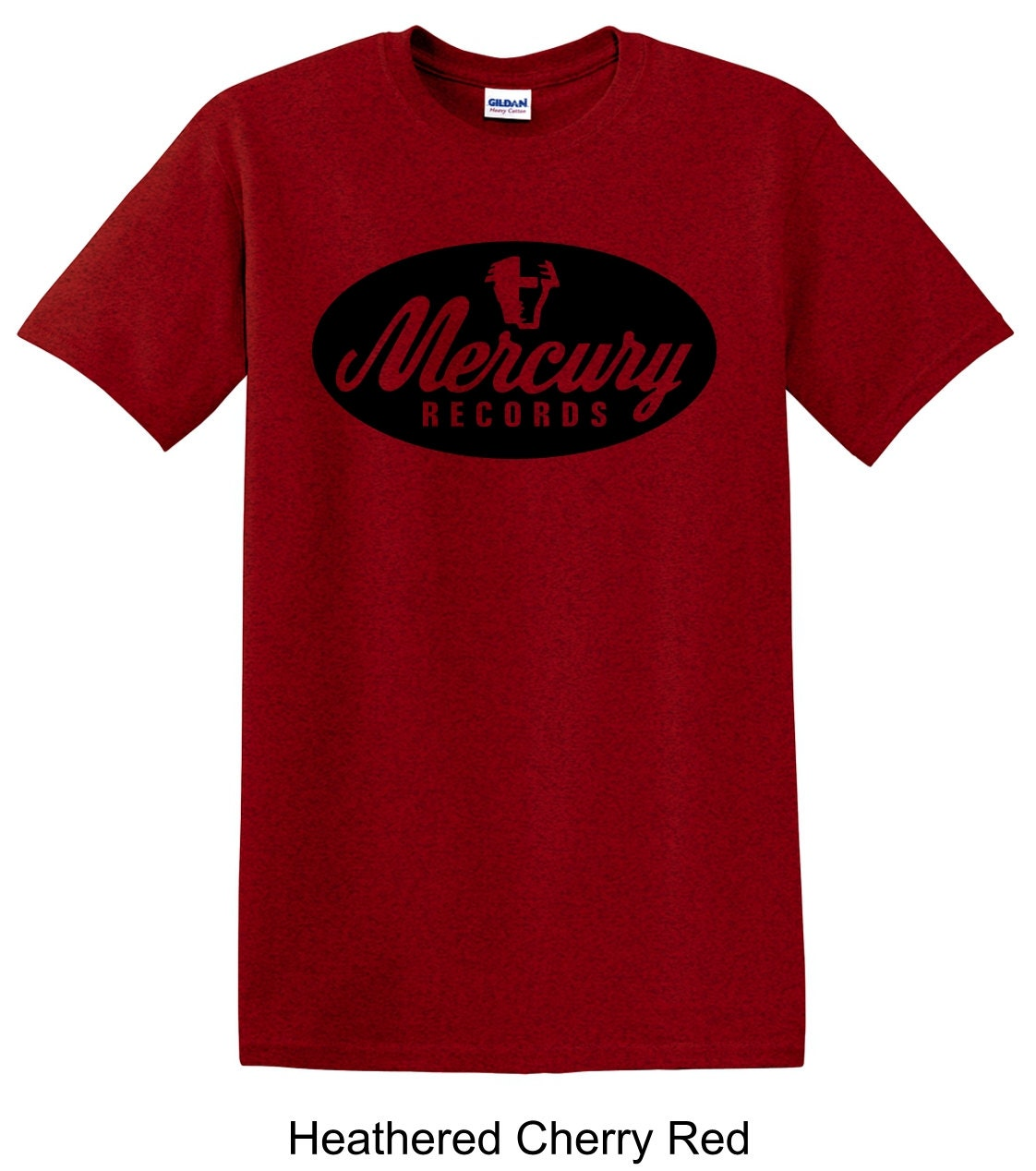 Mercury records vintage record label tee shirt long by for Vintage record company t shirts