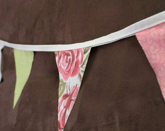 Rose Bunting-Banner, Flags