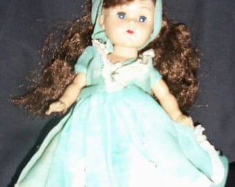 VOGUE Ginny Doll head moves, eyes open and close Walking Ginny Doll Brown hair Ginny Blue eye Ginny Doll Vintage Ginny