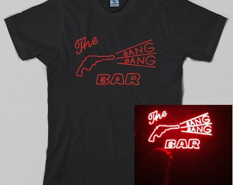 Bang Bang Bar T Shirt  - twin peaks, david lynch, tv, fire walk with me, Graphic tee, All Sizes & Colors