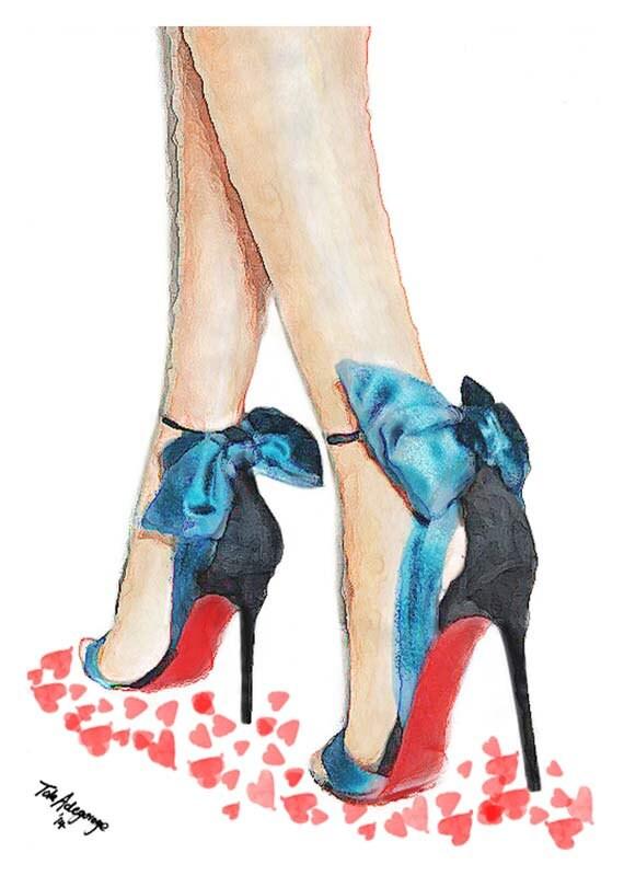 High Heel Shoe Artwork
