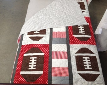 Popular Items For Football Quilts On Etsy