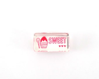 Kawaii ice cream stamp - sweet stamp - spoon stamp - dessert stamp