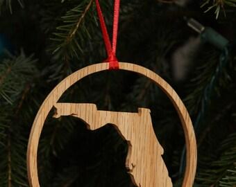 Florida State Christmas Ornament