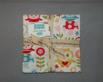 Fine and Dandy by Riley Blake Designs - 5 inch sqares
