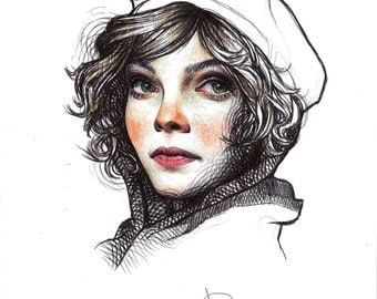 "Print SELINA KYLE from ""GOTHAM"" TVShow"
