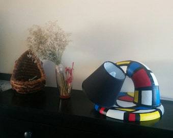 Big Twister Mondrian Lamp