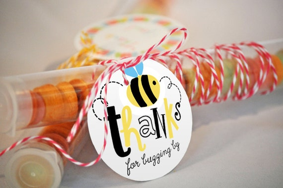 Bumble Bee Favor Tag What Will It Favors Tags Party Honey Printables