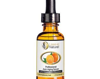 Lisse et Naturel Professional Strength Vitamin C Serum 20% + Hyaluronic Acid