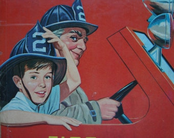 Vintage TV Leave it to Beaver - Fire - Youth Reading Book with Illustrations
