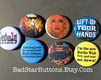 Hedwig and The Angry Inch Glamorus Button Pack