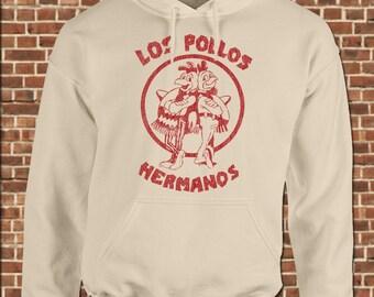 POLLOS HERMANOS mens Hooded Sweatshirt all sizes available funny breaking walter white bad fried chicken heisenberg pullover hoodie UG309