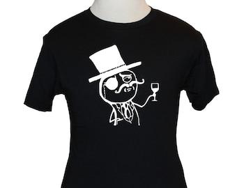 LulzSec T-Shirt - American Apparel, Canvas or Gildan - Black (S M L XL) - Lulz Security Defunct Hacking Group