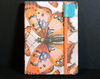 Kindle Voyage Cover - Victorian Butterflies  pretty butterfly print hardcover eReader case for voyager - kindle cover women's tech accessory
