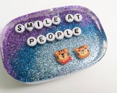 MADE TO ORDER - Unusual Bathroom Decor: Smile at People