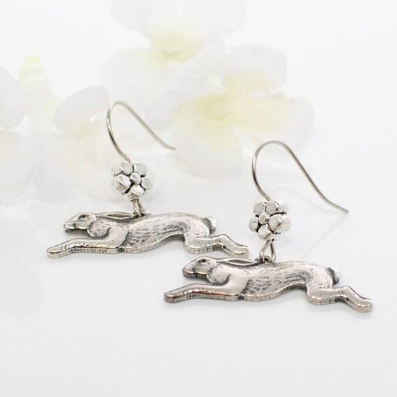 Inspired Jewelry Running Rabbit Inspired Jewelry