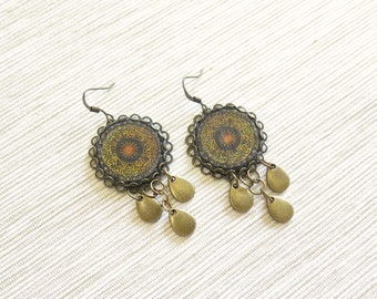 Aya Sofya Earrings - Istanbul Collection - by Loschy Designs
