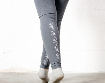 FIXIE BICYCLE LARGE womens Leggings L