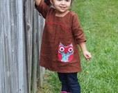 MCM Studio Designs PDF Sewing Pattern Gingersnap Dress or Tunic Girls 2-6
