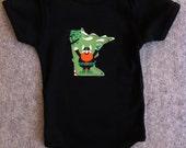 custom state baby onesie 6-12m 12-18, tee minnesota new york california texas wisconsin iowa illinois ... all states