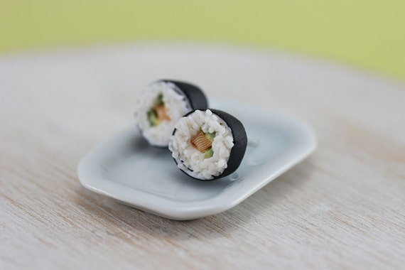 Maki Sushi - Studs / Post Earrings