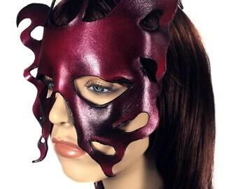 CLEARANCE SALE - Fae - Leather Mask