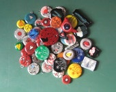 Jewelry Making Supplies Handmade Polymer Pendants Lot of 49 Original Artwork