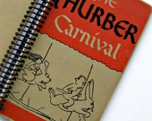 Recycled Hardcover Book Journal, Sketchbook, Notebook, or Day Planner: The Thurber Carnival