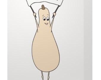 Gourd-damn Thank You Card