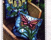 Orange Monarch Butterfly Pillow kit