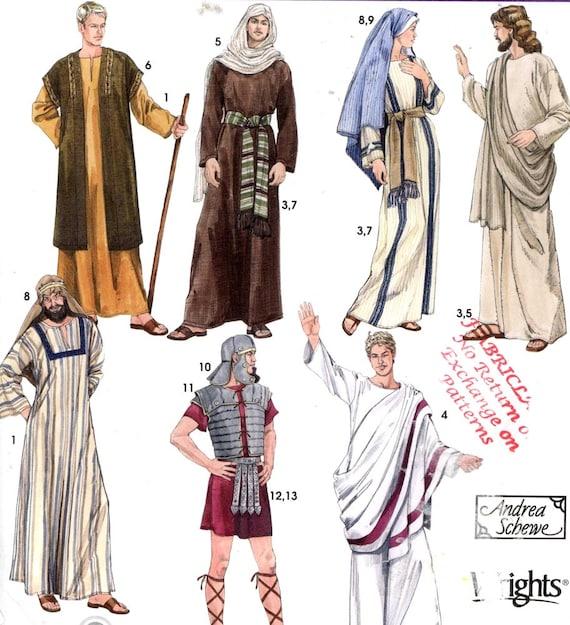 Greek or Roman toga Caftan for men Gladiator Helmet Veil Armor