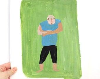Man - Original illustration